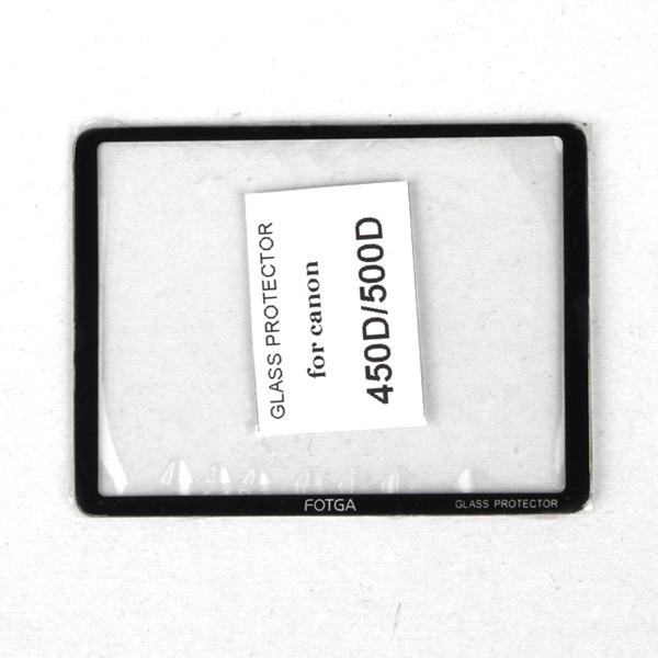 Image of Glazen Screenprotector voor Canon EOS 450D/500D 15039