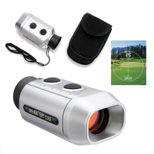 Digitale Golf Afstandsmeter met opbergtas