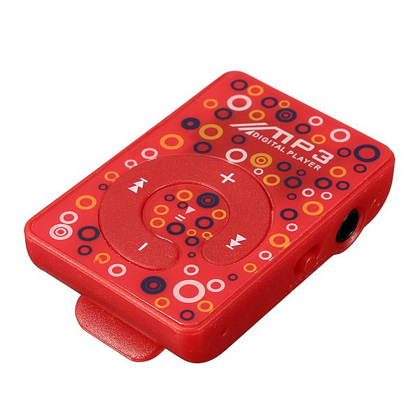 Micro SD clip mp3 speler