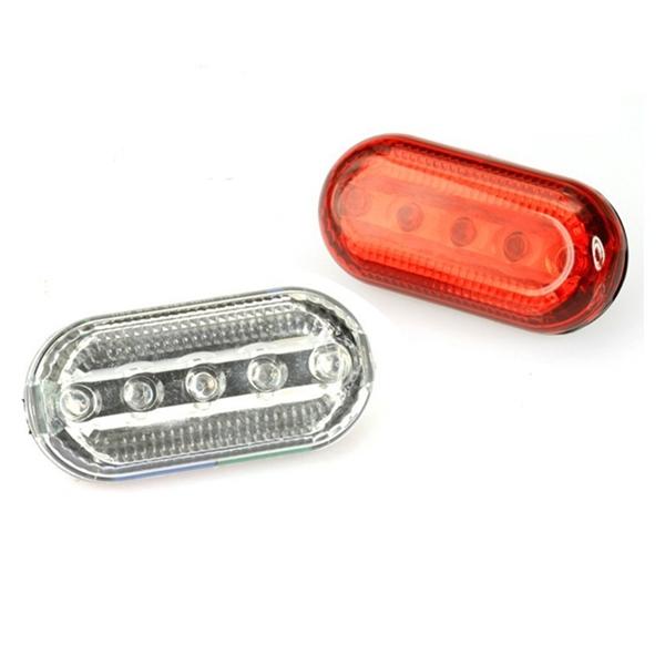 5 LED Achterlicht Fietsverlichting