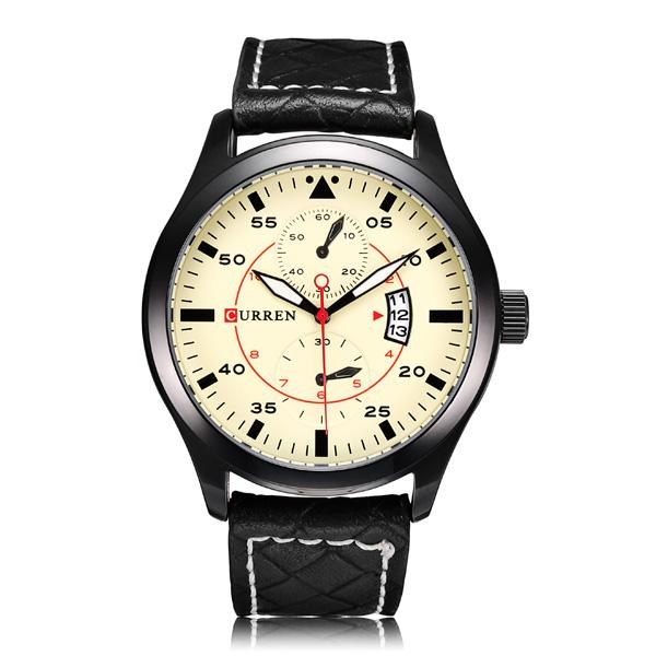 Image of CURREN 8151 Herenhorloge In Twee Kleuren 8380860