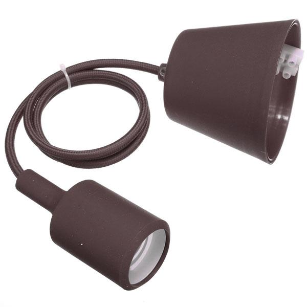 Stijfvolle rubberen lampenhouder met e27 fitting