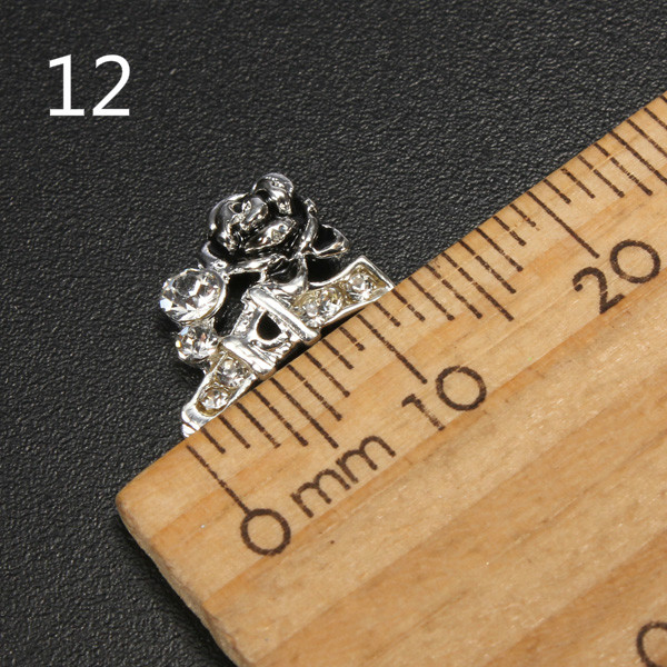 3D Nagel Steentjes voor Nail Art Decoratie (10 stuks)