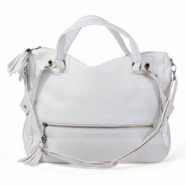 b8844a1cdc1 Deze mooie grote dames tas casual stijl in wit of zwart kun je gebruiken  als schoudertas