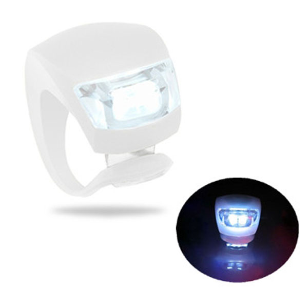 LED Fietslampje Wit Voorlicht