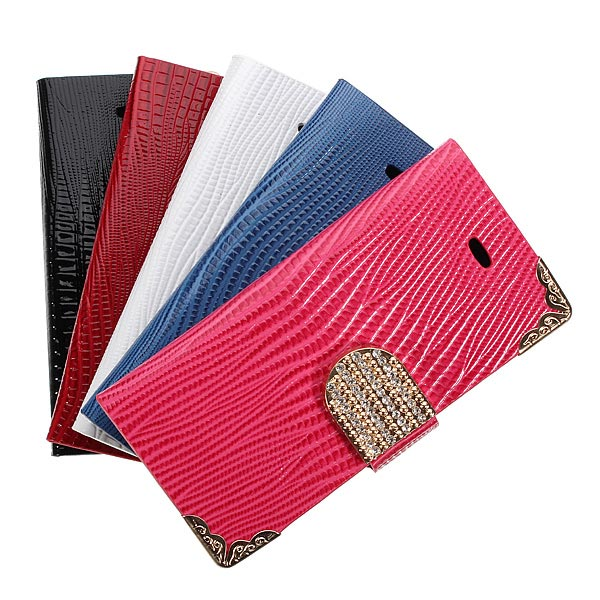 Bling Flip Hoesje voor iPhone 5 en 5S