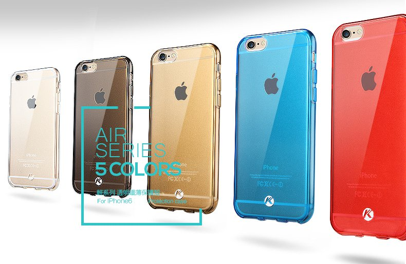 Kalaideng Air Series TPU Hoesje voor iPhone 6