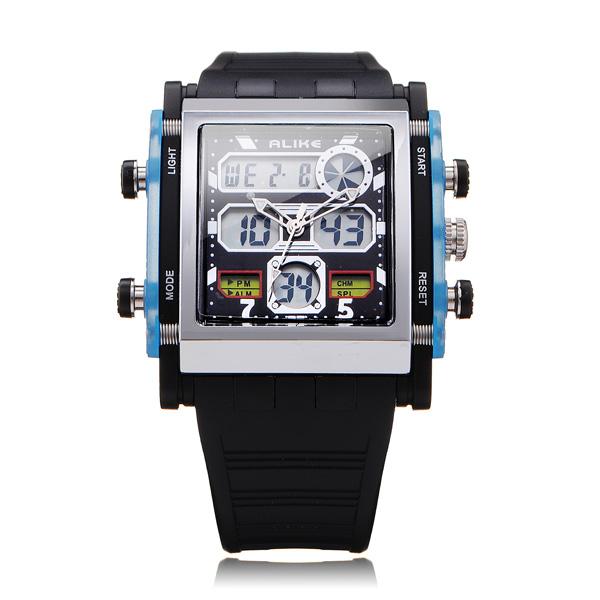 Vierkant Sport Horloge