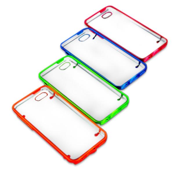 Hoesje voor iPhone 5C met Transparante Achterkant