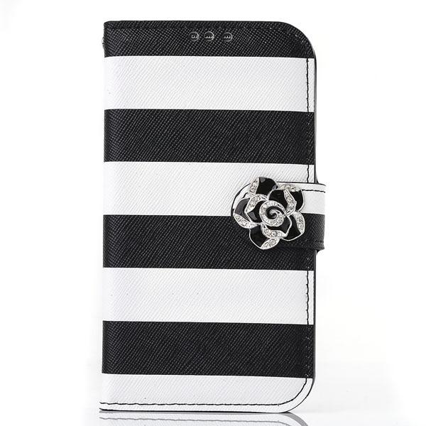 Telefoonhoesje voor iPhone 5 & 5S met Zebrastrepen