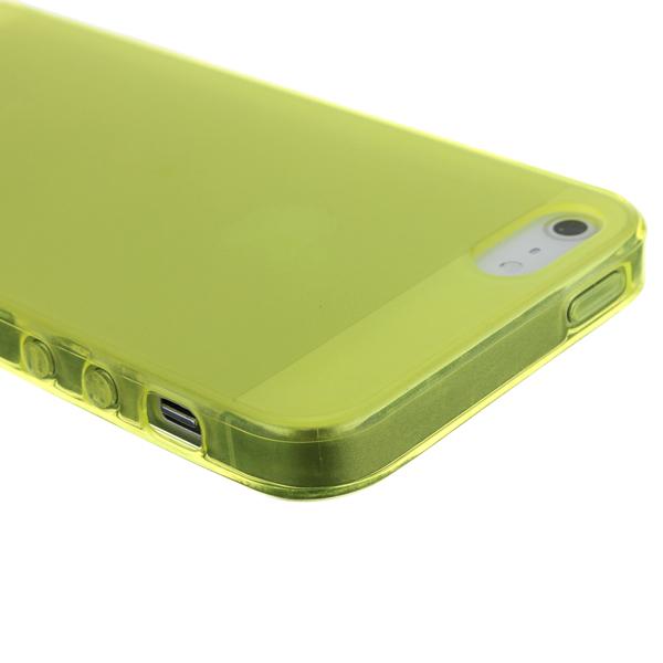 Siliconen Hoesje voor iPhone 5, 5G & 5S