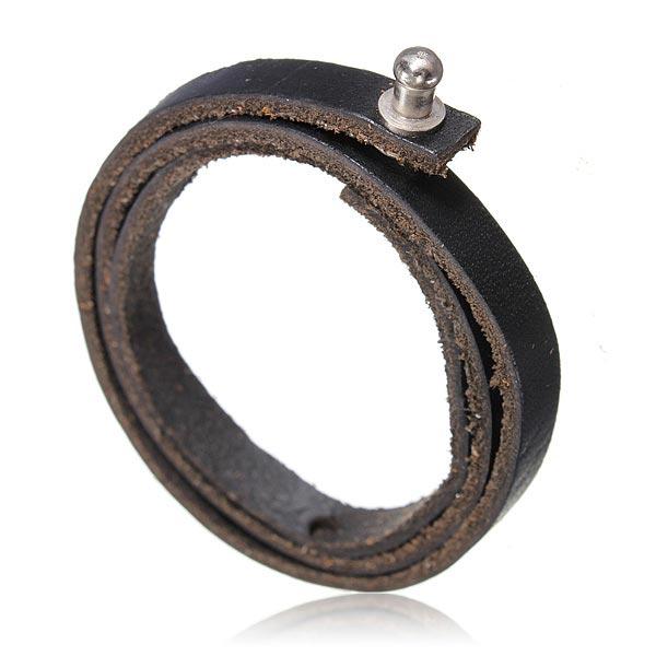 Heren Leren Armband Verstelbaar