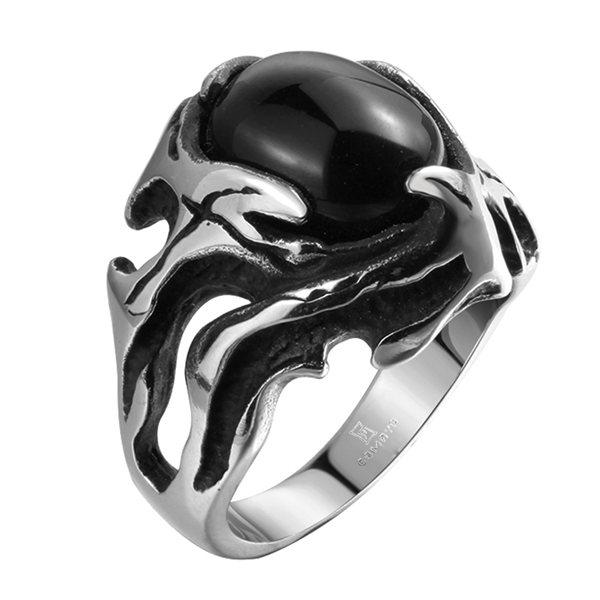 Mannen Ring (Punk Style)
