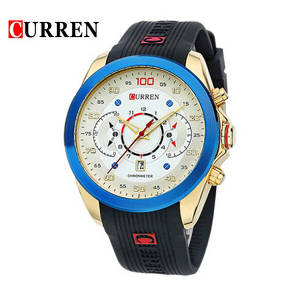 Image of CURREN 8166 Sporthorloge In Meerdere Kleuren 108080