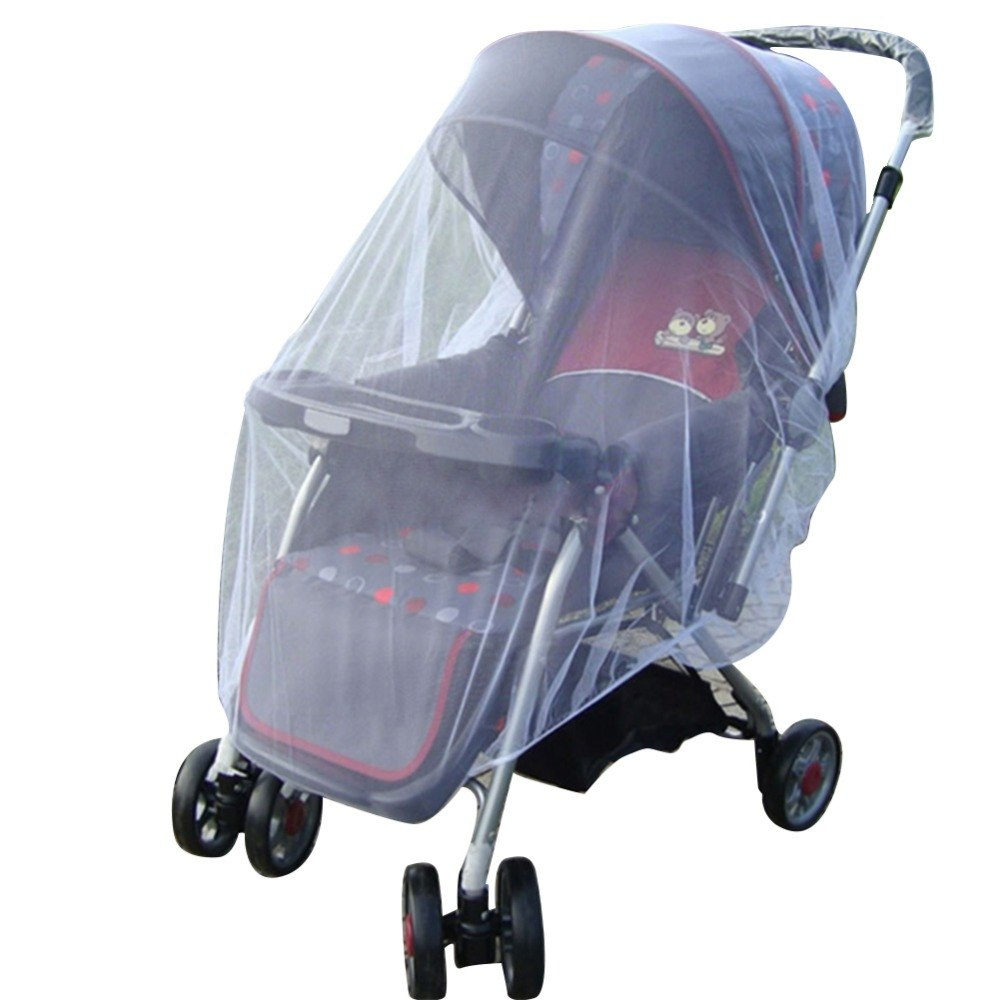 Outdoor Zuigeling Kids Kinderwagen Mosquito Insect Net Mesh Buggy Cover LL5   MyXL
