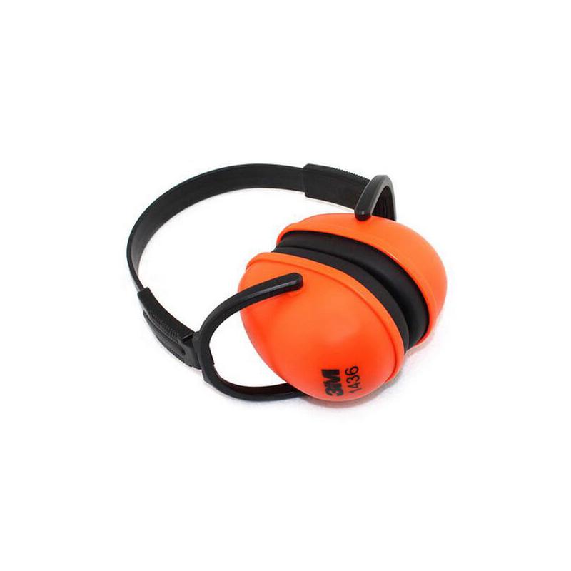 3 M 1436 Oorbeschermers NRR 23DB anti-geluid Professionele Oortelefoon Headset Vouwen Slapen Oorbesc