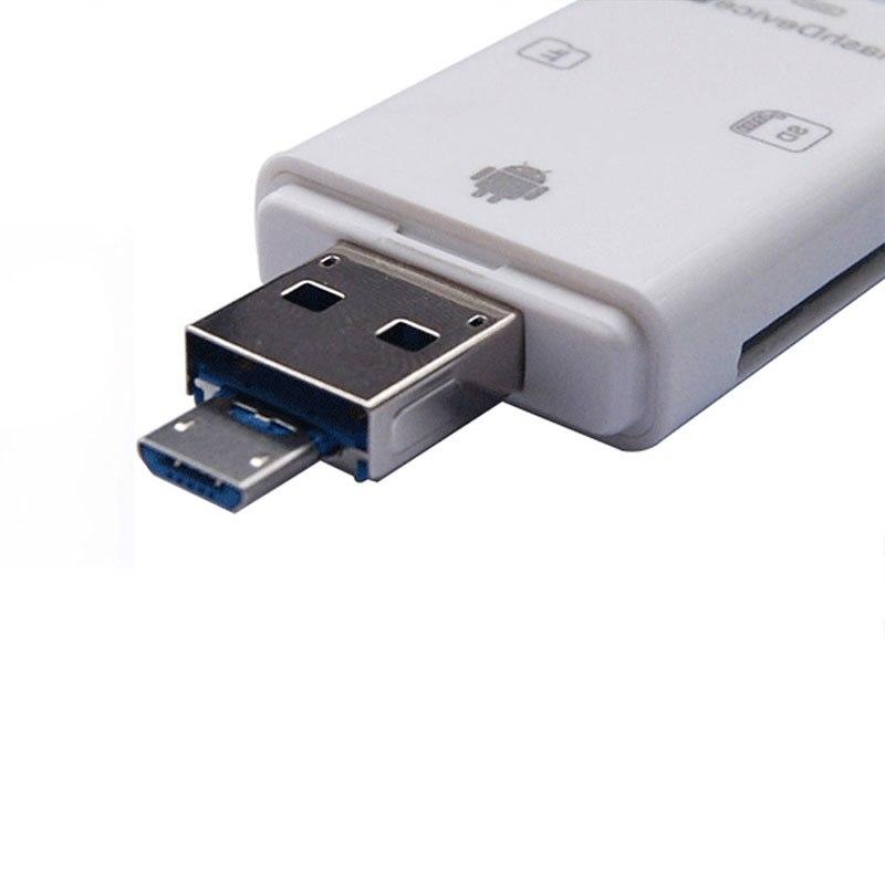 Image of I-FlashDrive HD 32 GB TF + Sd-kaartlezer Interface Micro USB Flash Drive voor iPOD/iPhone/iPad [FH] FC ACRDDK 3504823