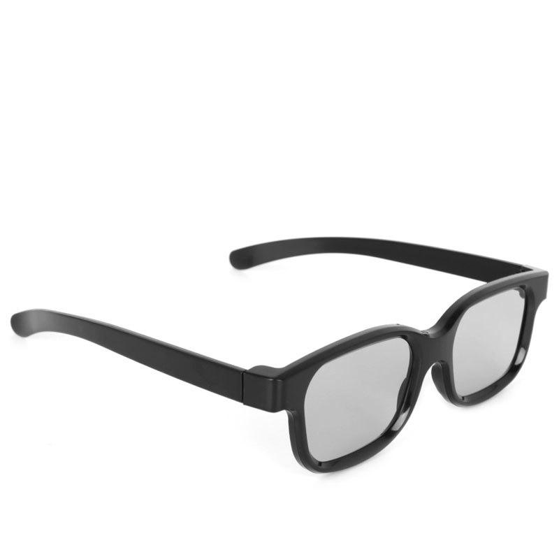 CirculaireGepolariseerde Passieve 3D Bril Zwart H3 Voor TV Real D 3D Bioscopen   OOTDTY