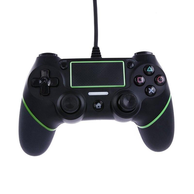 PS4 Accessoires Wired Gamepad Joystick PS4 SIXAIXS Meerdere Trillingen Motor voor PlayStation 4 Verv