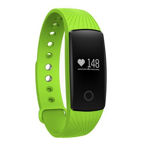 Smart Band Smartband Hartslagmeter Polsband Fitness Flex Armband voor Android iOS PK xiomi mi Band 2