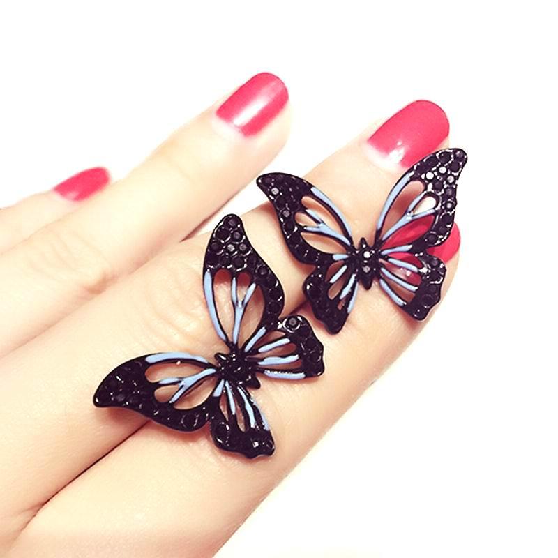Mode Grote Vlinder Oorbellen Voor Vrouwen Bijoux Leuke Party Sieraden Groothandel  Etrendy