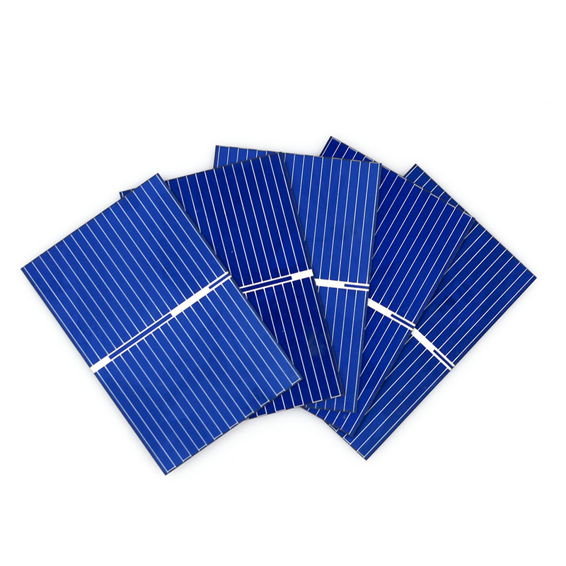 JSLINTER 150 stks Goedkope Zonnecel Polykristallijne DIY Panel Solar Kleine Acculader 0.5 V 0.18 W 3