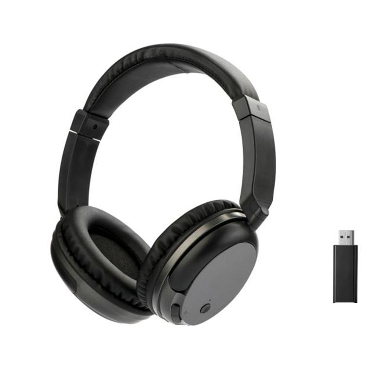 TV Oplaadbare Multifunctionele 2.4G Draadloze Headset TV Hoofdtelefoon met Microfoon voor TV PC iPad