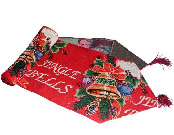 Nieuwjaar kerst tafelloper kerst tafelkleed decoratie huishoudtextiel