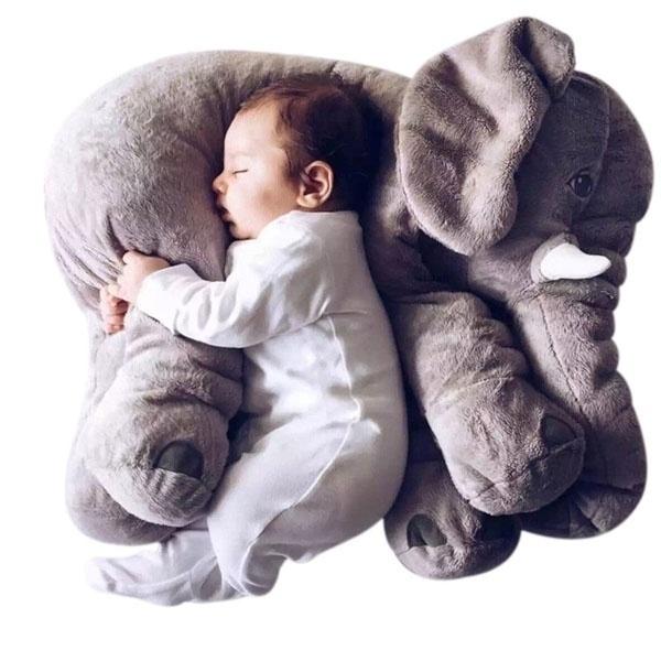 40 cm Olifant Pluche Speelgoed Paaien Pop Gevulde Pluche Kussen Home Decor voor Baby Auto Bed Wieg