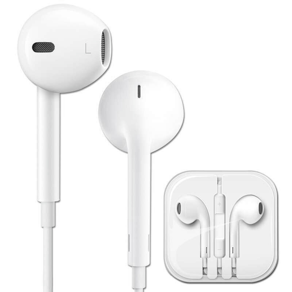 Originele Apple EarPods met 3.5mm Hoofdtelefoon Oordopjes Afstandsbediening Microfoon voor iPhone 5