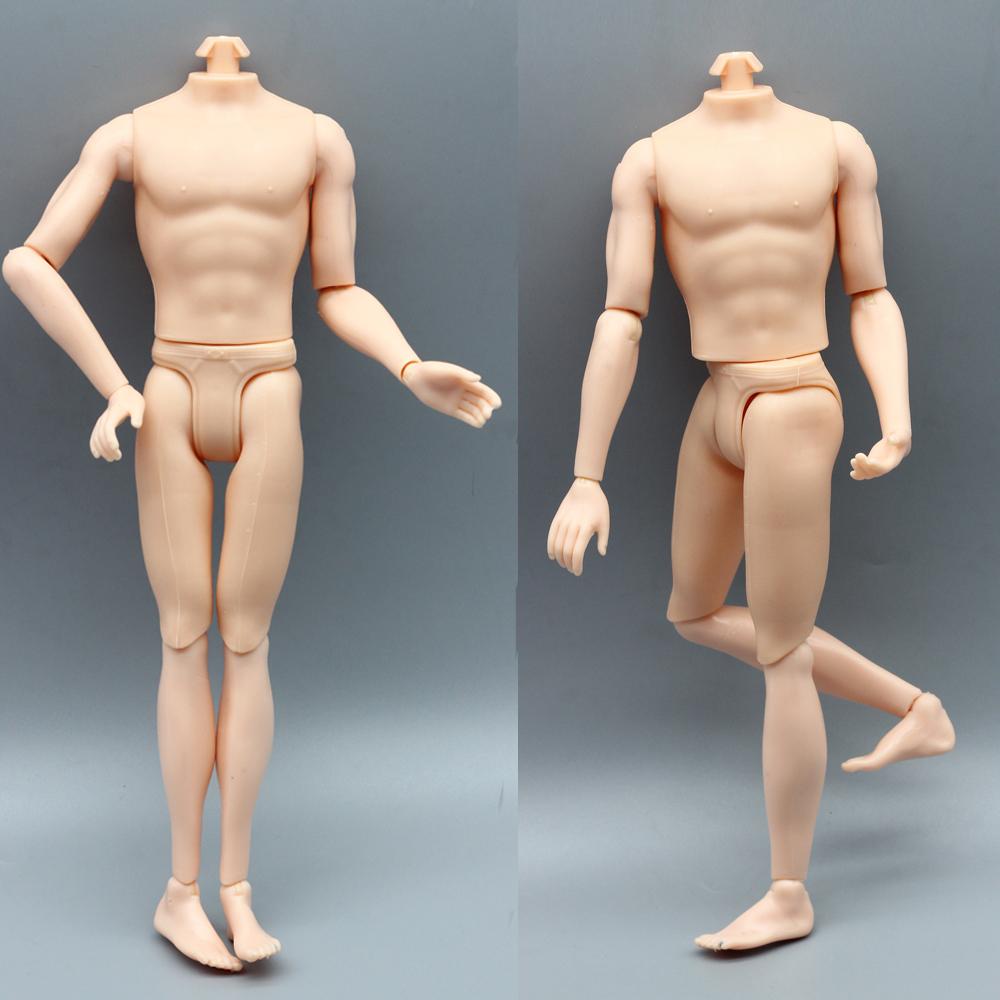 14 joint Boyfriend Body Voor Barbie Ken Mannelijke Pop DIY Naakte Pop Accessoires