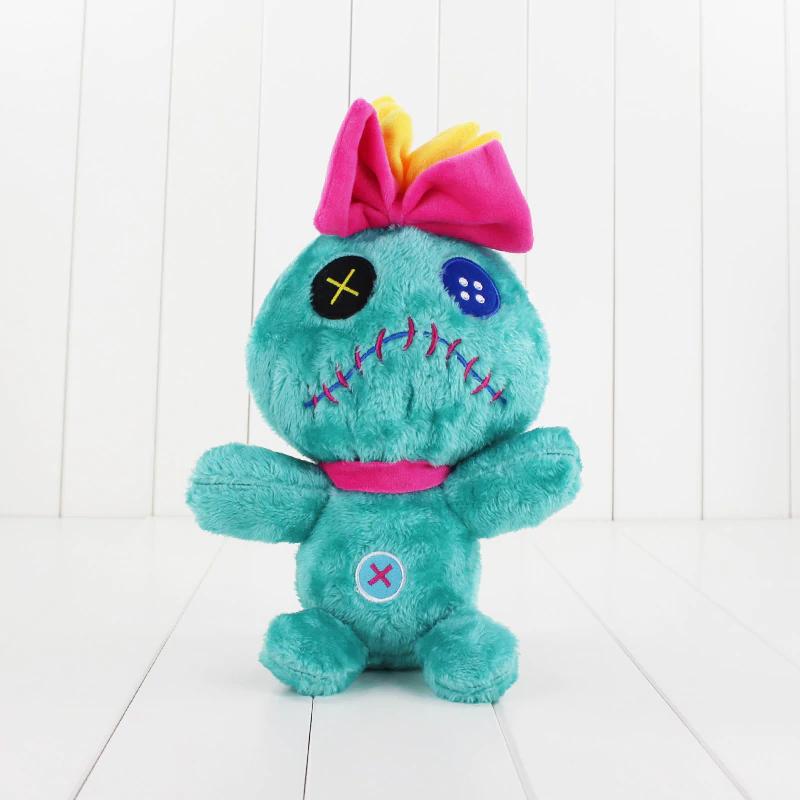 30 cm Lilo en Stitch Knuffel Groene Scrump Soft Gevulde Doll voor Kinderen